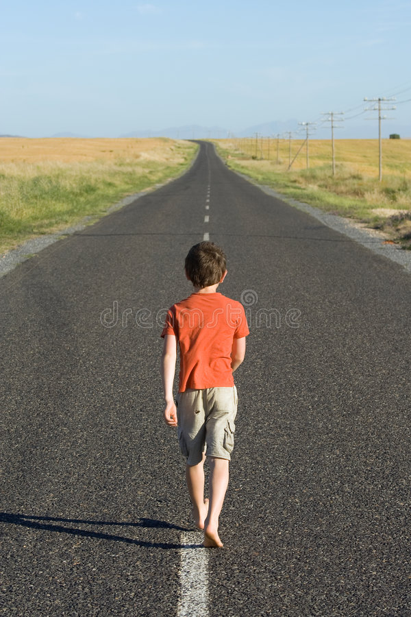 Download Walking Away stock photo. Image of future, horizon, eight - 6821570