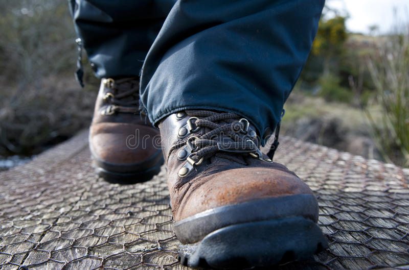 Walking Boots royalty free stock photos