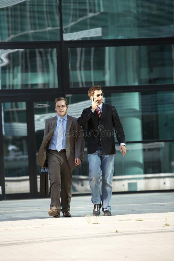 Download Walking Business Men Stock Photo - Image: 3131770