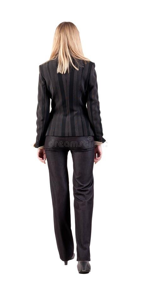 Download Walking Businesswoman. Back View Royalty Free Stock Image - Image: 26423976