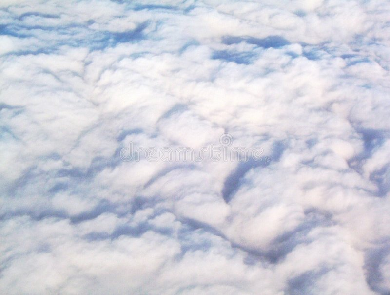 Walking On Clouds Royalty Free Stock Photo
