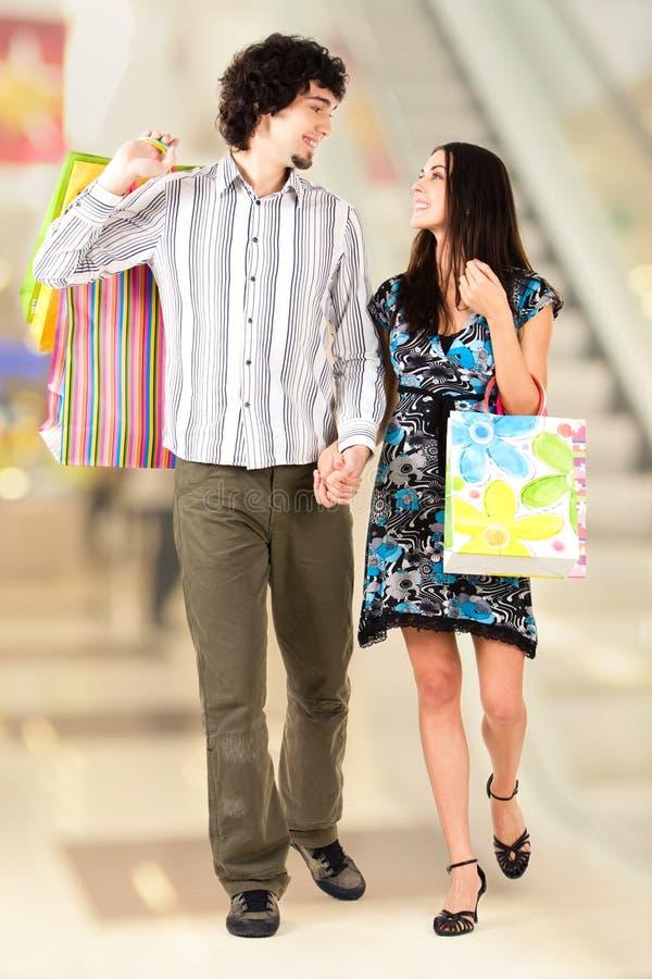 Download Walking couple stock image. Image of mall, girlfriend - 5236627