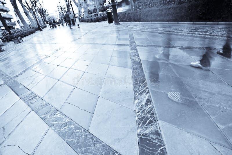 Download Walking crowd stock photo. Image of walking, square, pedestrian - 5064424