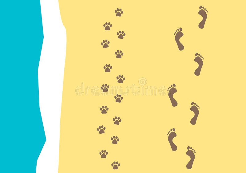 Download Walking the dog  pattern stock vector. Image of detail - 3552778