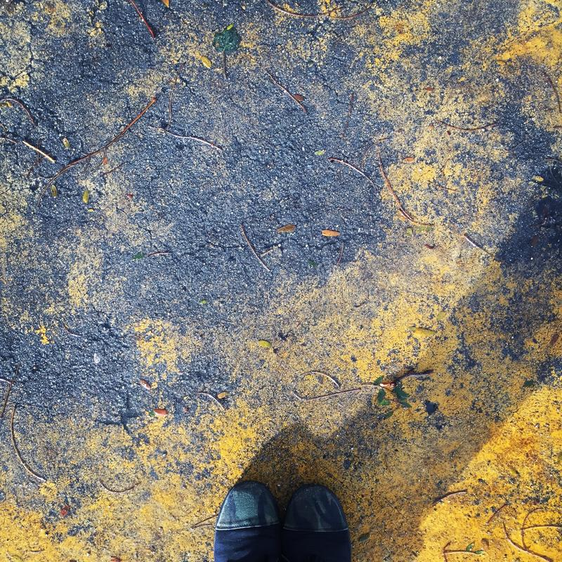 Walking floor stock photography