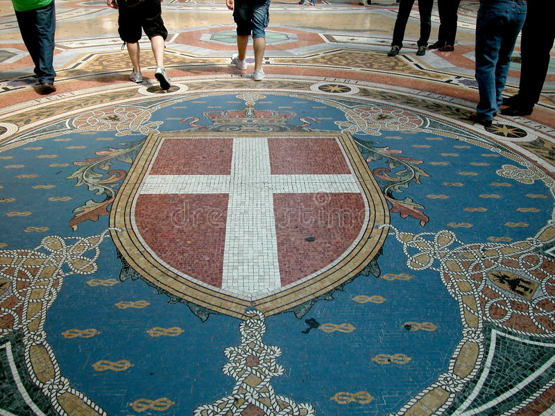 Download Walking In Gallery Vittorio Emanuele II, Milan Stock Photo - Image of commercial, milano: 9642214