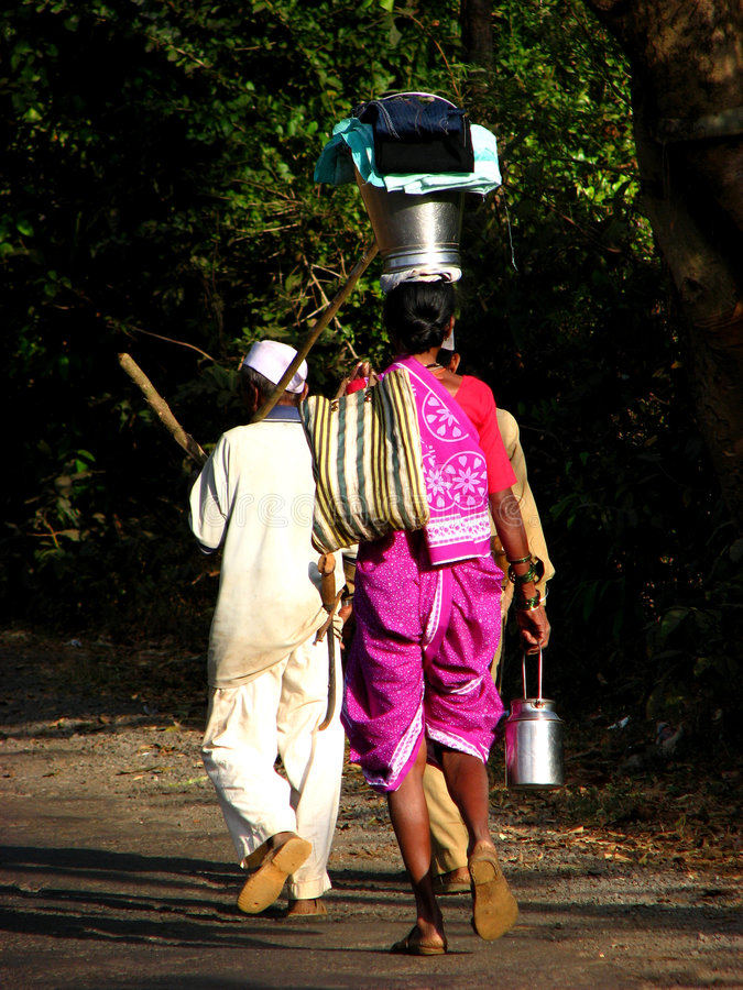 Download Walking Home stock photo. Image of balancing, active, asia - 2034114