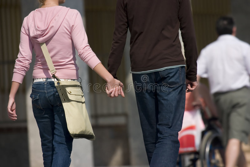 Download Walking in love stock photo. Image of affection, romance - 2136346