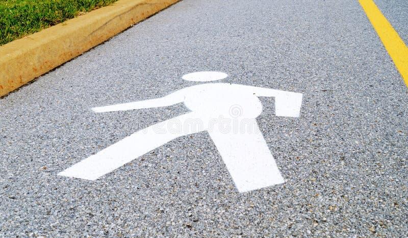Download Pedestrian Lane Street Sign Stock Image - Image: 35828397