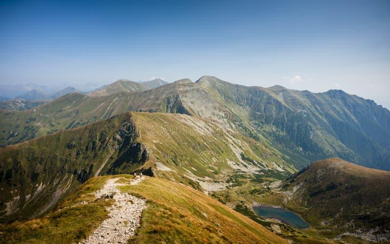 Walking mountains stock photos