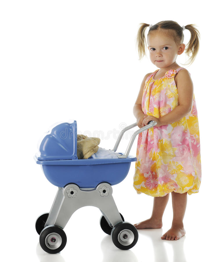 Download Walking My Baby stock image. Image of happy, background - 25807459