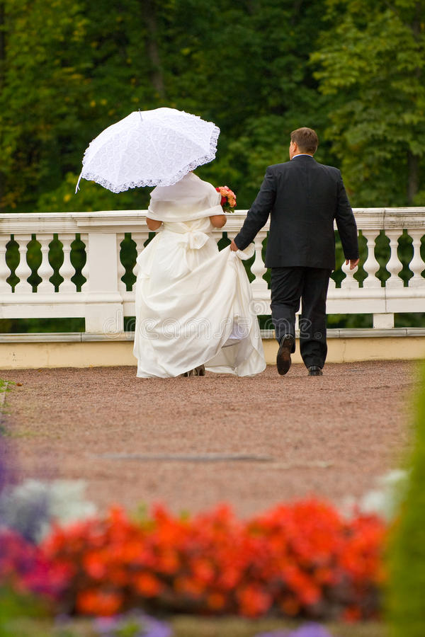 Download Walking newlyweds stock photo. Image of love, faith, fidelity - 13071470