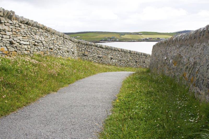 Walking Path Royalty Free Stock Image