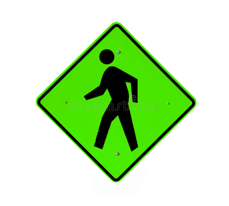 Walking path sign vector illustration