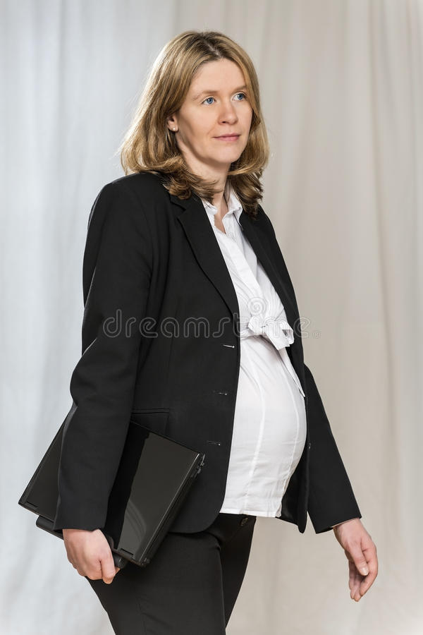 Download Walking Pregnant Business Women Stock Image - Image of office, female: 29786211
