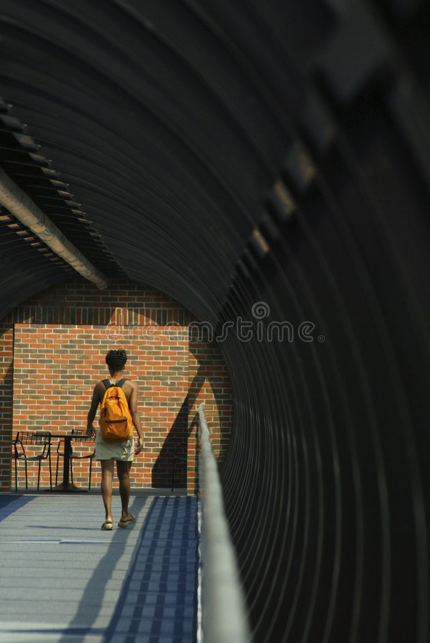 Free Walking Through A Tunnel Stock Photography - 477952