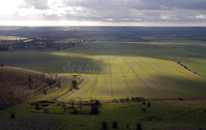 Download Walking The Wiltshire Downs Stock Image - Image: 12490209