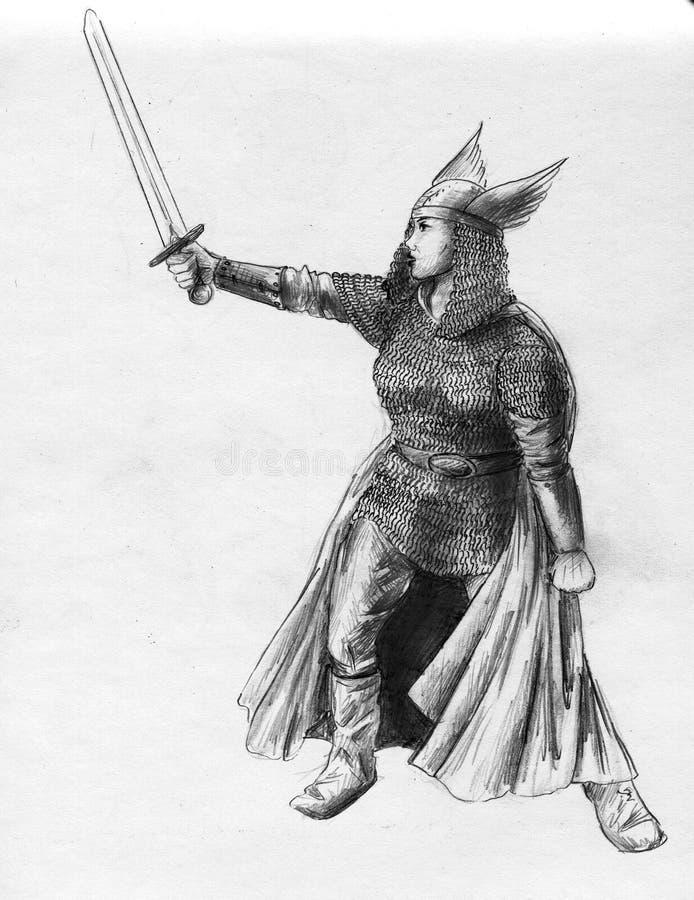 walkiria royalty ilustracja