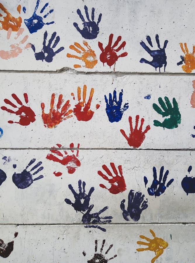 walkower pięć palców zdjęcie royalty free