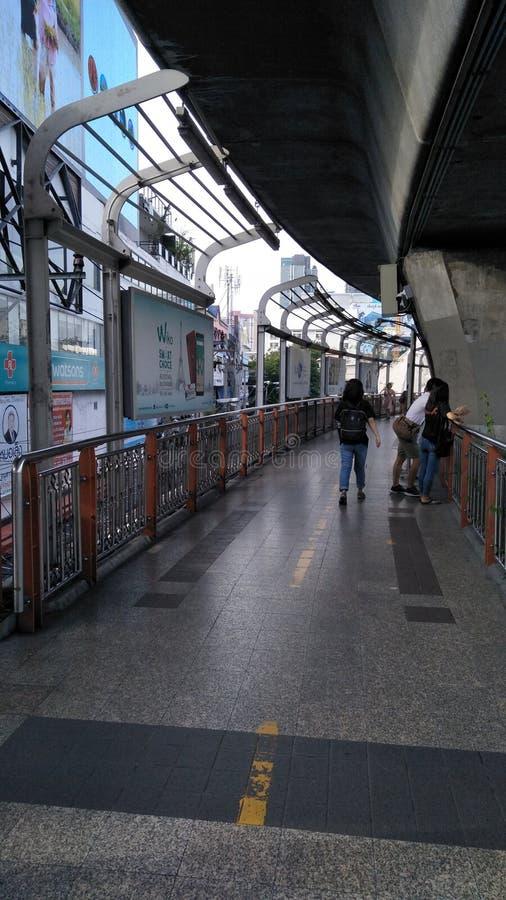 walkway royaltyfria foton
