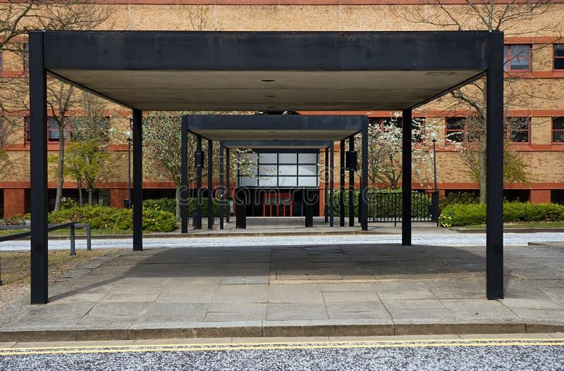 Download Walkway stock image. Image of empty, metal, exterior - 14032333