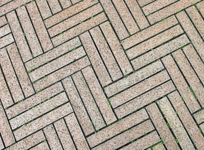 Walkway brick with design pattern stock images