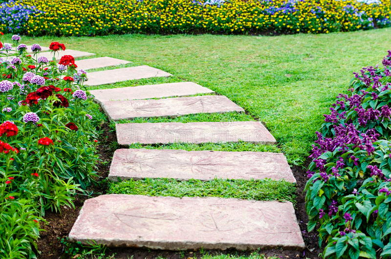 Download Walkway stock image. Image of interior, path, park, colorful - 39119089