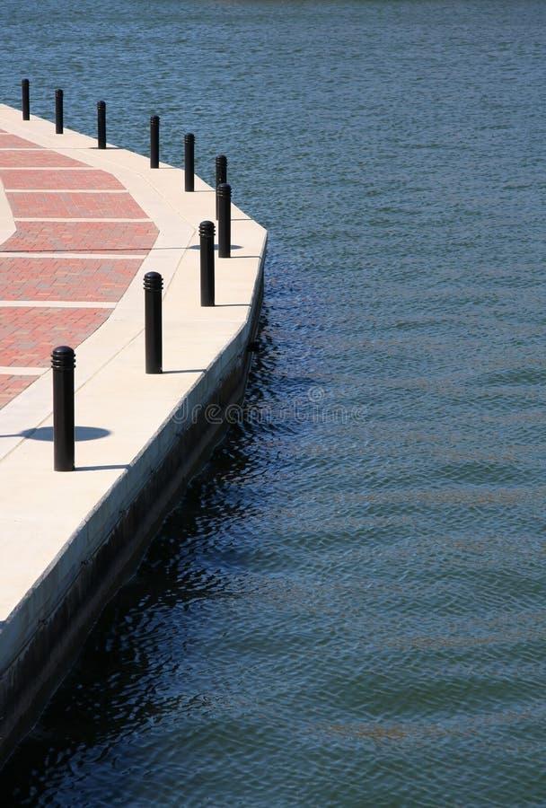 Walkway On The Lake Royalty Free Stock Photography