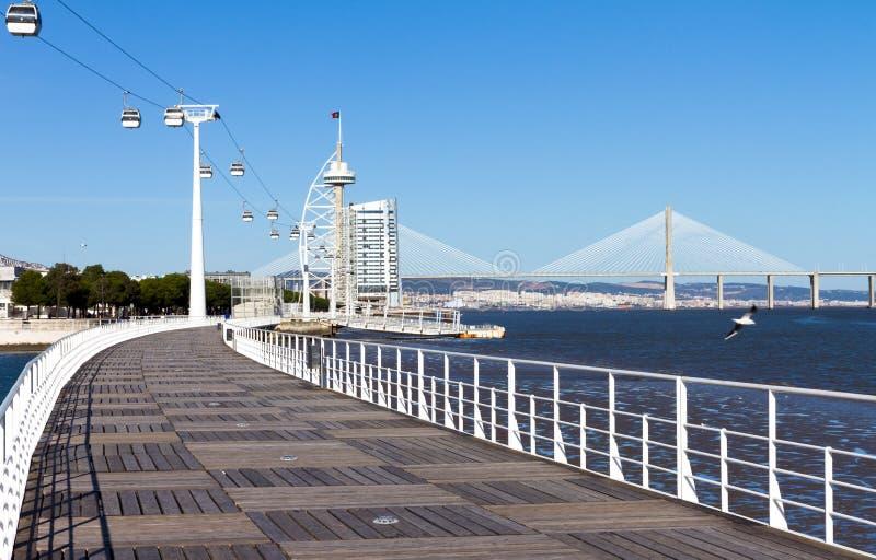 Download Walkway Lisbon Expo '98 Royalty Free Stock Photos - Image: 25256908