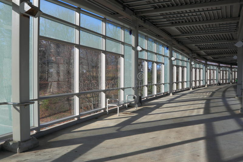 Download Pedestrian walkway stock photo. Image of steel, grey - 22306348