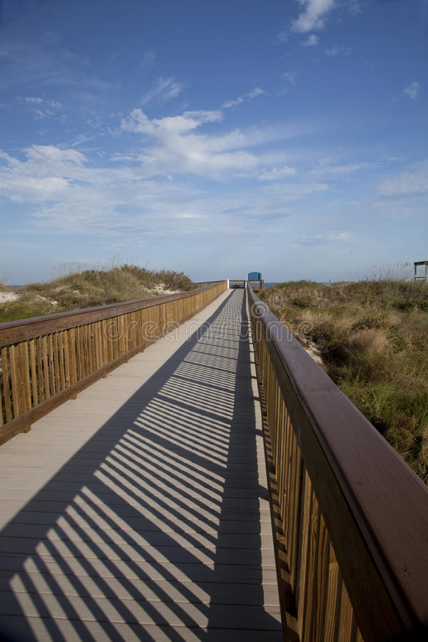 Download Walkway To Beach, St. Augustine, Florida Stock Photo - Image: 12093438
