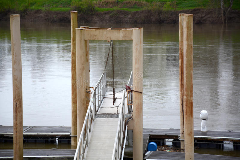 Walkway to dock royalty free stock photos