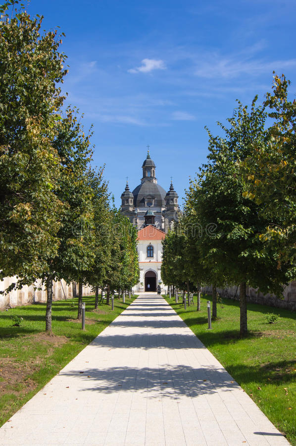 Download Walkway To The Pazhayslissky Monastery, Kaunas Stock Image - Image of travel, religious: 33209195