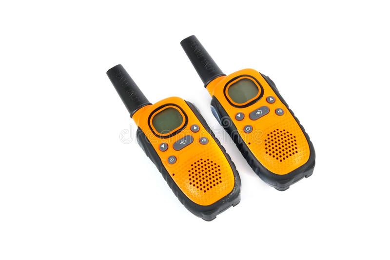 Walky talky immagini stock