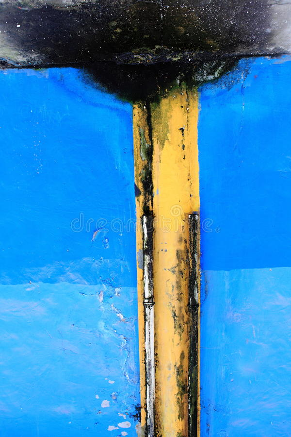 Download Wall stock photo. Image of paint, blue, outlet, outfall - 13429300