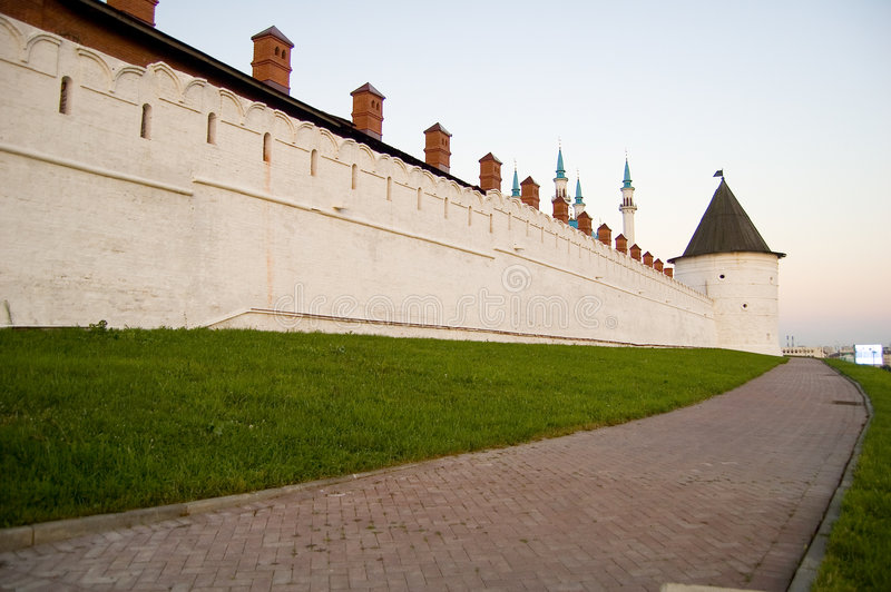 The wall royalty free stock image