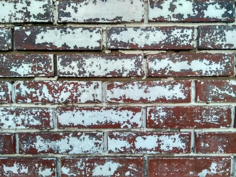 The wall of a house in the old part of the city! stock photography