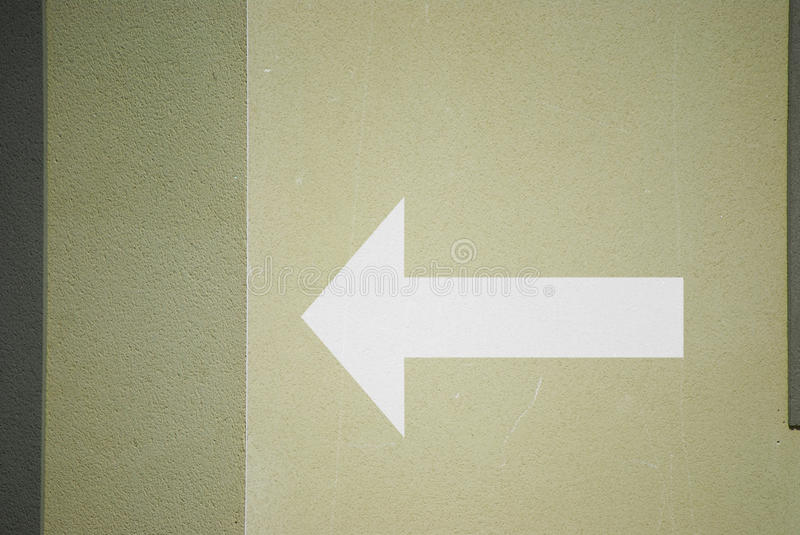 Download Wall with arrow stock photo. Image of white, space, horizontal - 21306464