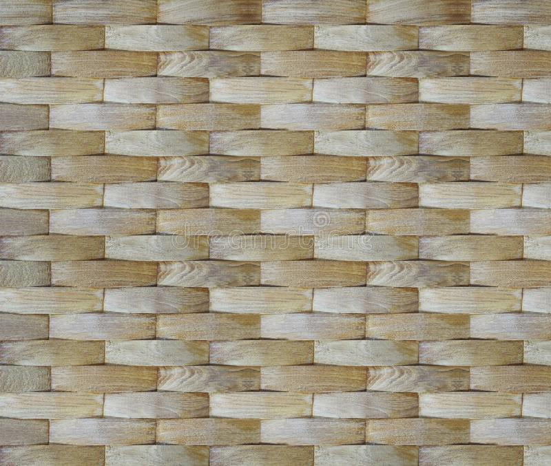 Wall background. Geometric curve veneer wood pattern for interior design. stock image