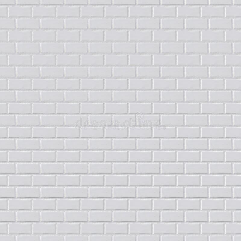 Gray brick wall background, seamless texture vector illustration