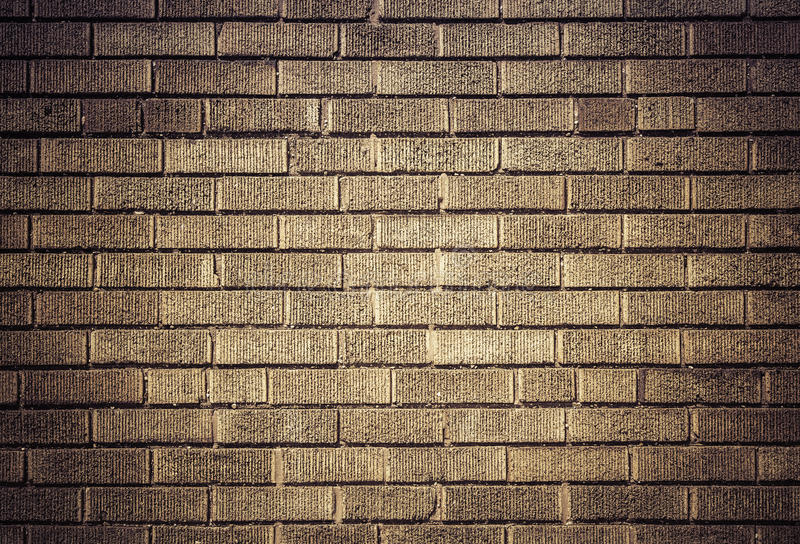 Brick wall for background or texture royalty free stock photos