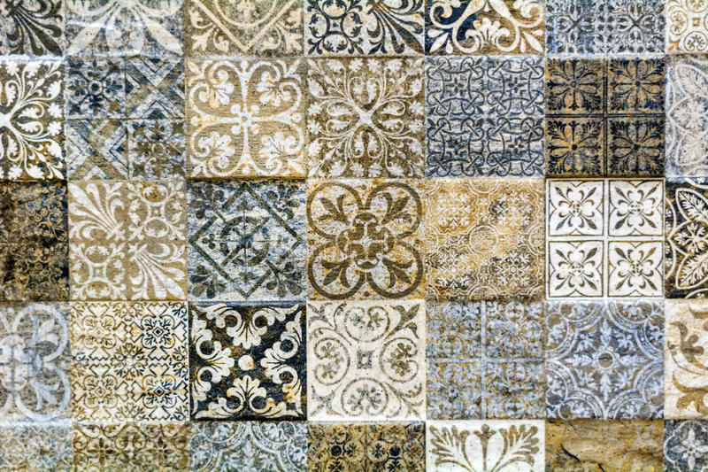 Wall bathroom tiles royalty free stock photo