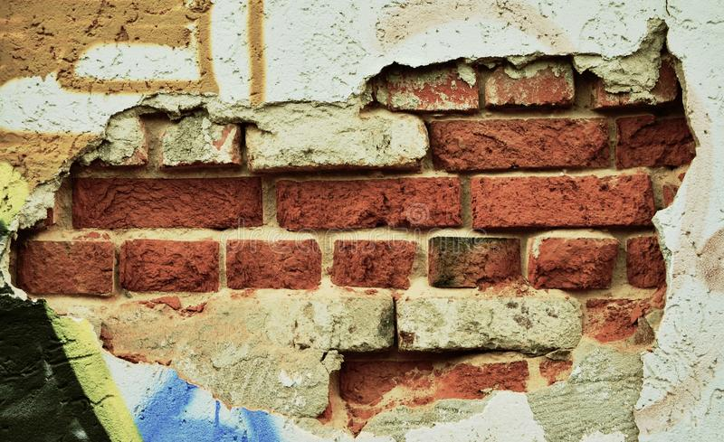 Wall, Brick, Brickwork, Material royalty free stock image