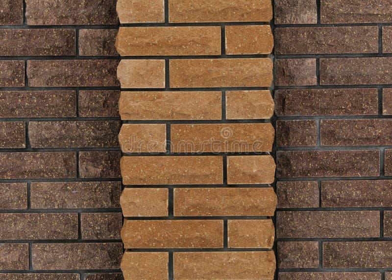 Wall of bricks, background of bricks royalty free stock image