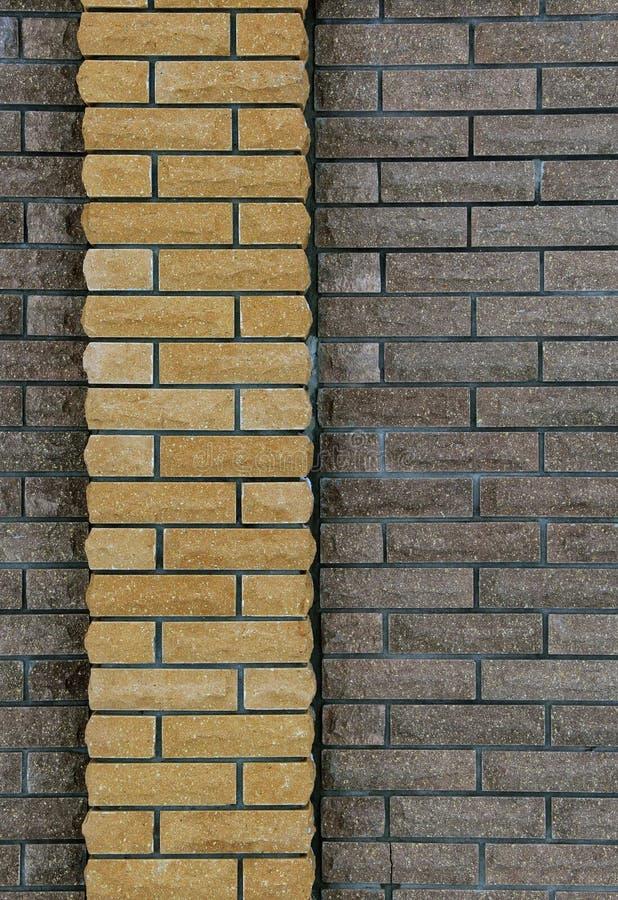 Wall of bricks, background of bricks royalty free stock photography