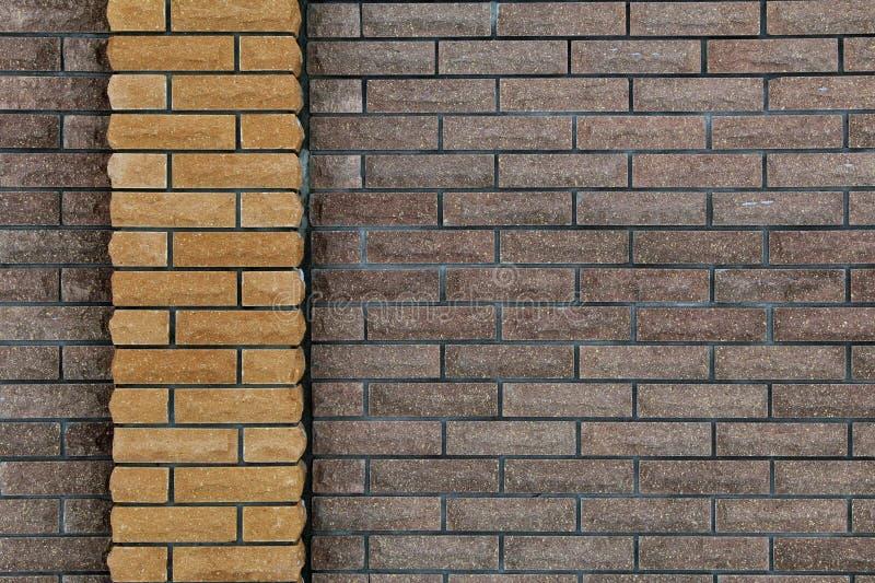 Wall of bricks, background of bricks royalty free stock images