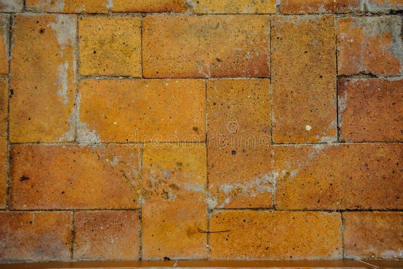 Wall. Bricks background pattern vintage very old stock photo