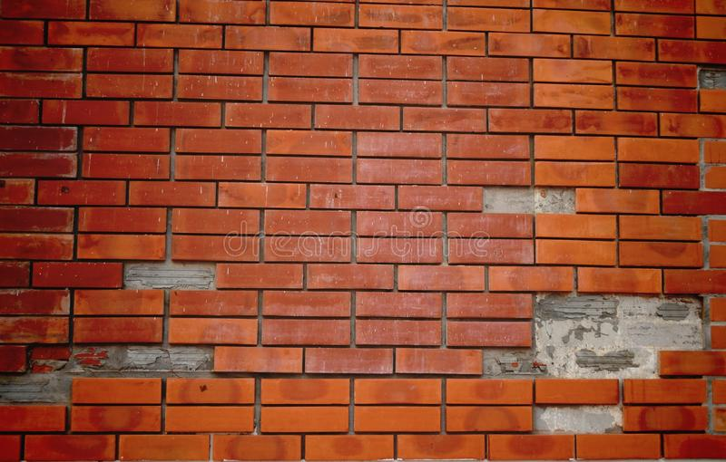 Wall bricks backgrounds royalty free stock images