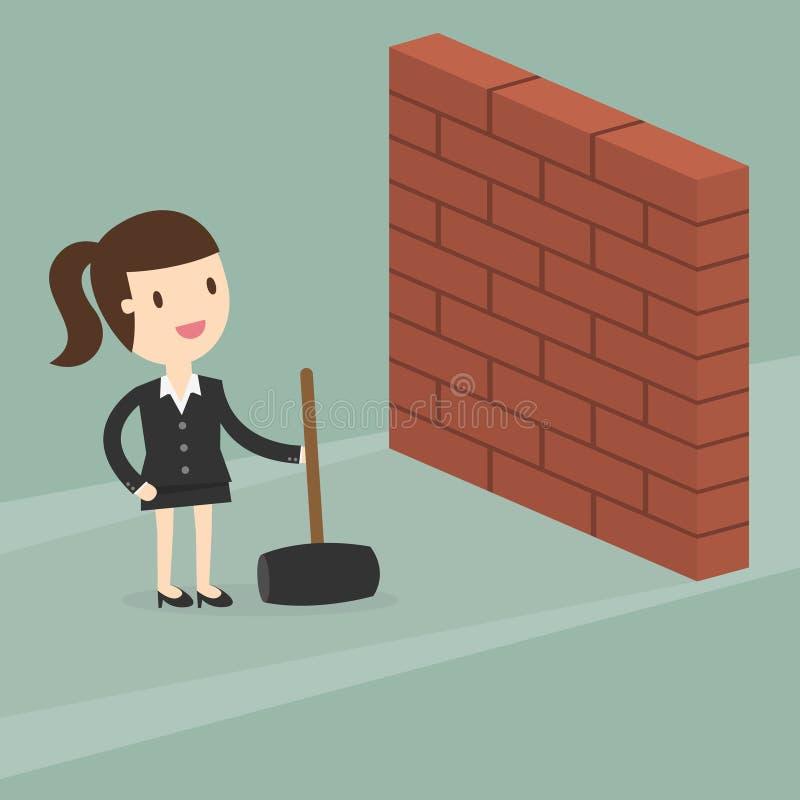 Wall royalty free illustration