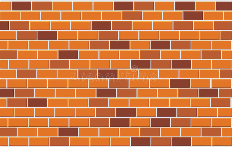 Download Wall of capacity brick stock vector. Image of background - 12368959